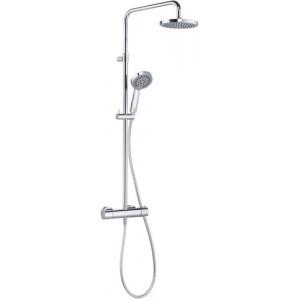 Душевая система Kludi D-Zire Dual Shower System с термостатом 6609705-00