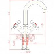 Смеситель ZOLLEN ESSEN ES52420522