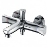 Смеситель ZOLLEN HEIDE (арт. HE61620741) для ванны короткий изл, с аксессуарами