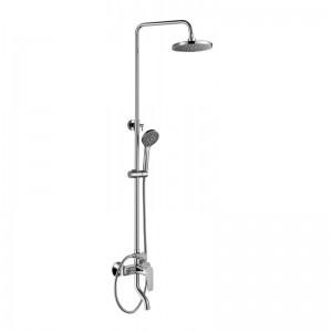 Душевая система ZOLLEN BERGEN BE31613241 пов.излив,верх и ручной душ